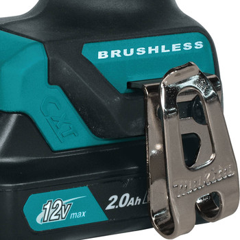 Makita FD07R1 12V max CXT Lithium-Ion Brushless 3/8 in. Cordless Drill Driver Kit (2 Ah) image number 7