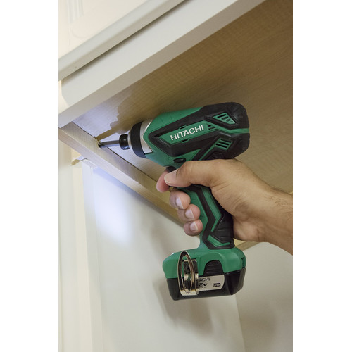 Hitachi WH10DFL2 12V Peak Li-Ion 1/4 in. Hex Impact Driver image number 5