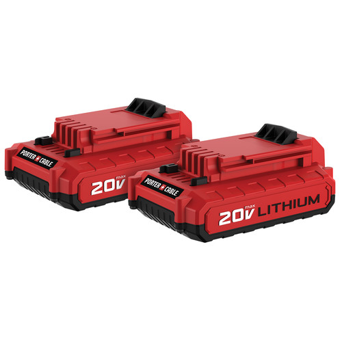 Porter-Cable PCC680LP 20V MAX 1.5 Ah Lithium-Ion Battery (2-Pack)