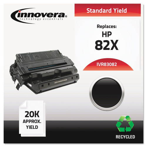 Innovera IVR83082 Remanufactured C4182x (82x) High-Yield Toner, Black