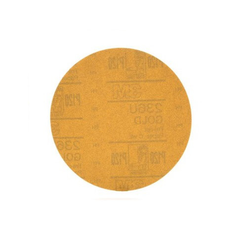 3M 981 Hookit Gold Disc, 6 in., P120C (100-Pack)