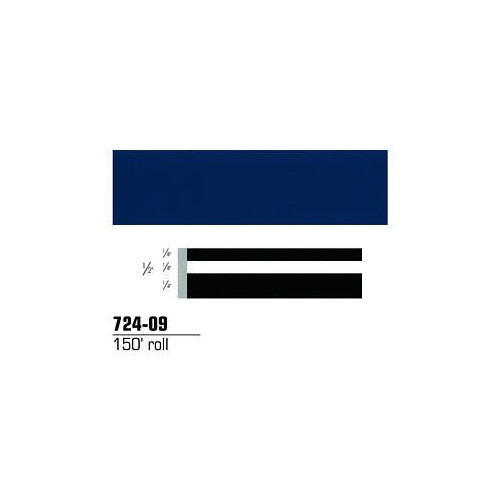 3M 72409 Scotchcal Striping Tape, Dark Blue, 1/2 in. x 150 ft.