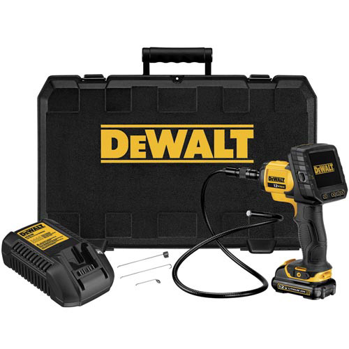 Dewalt DCT411S1 12V MAX Cordless Lithium-Ion 9mm Inspection Camera with Wireless Screen Kit