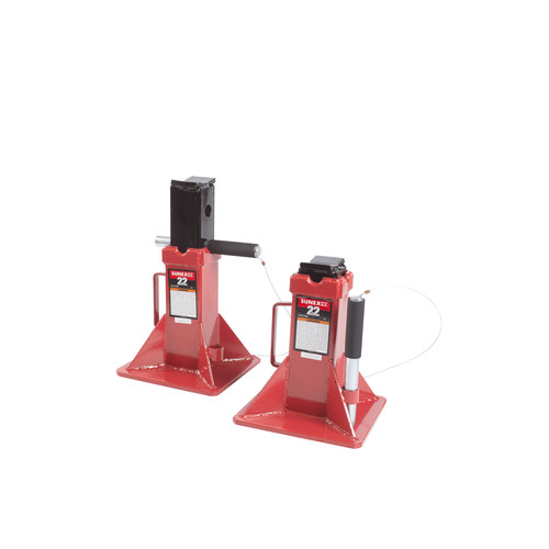Sunex 1522 22 Ton Pin Type Jack Stands (Pair) image number 3