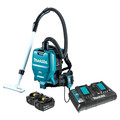 Makita XCV05PT 18V X2 LXT (36V) Cordless Lithium-Ion Brushless 1/2 Gal. HEPA Filter Dry Vacuum Backpack Kit
