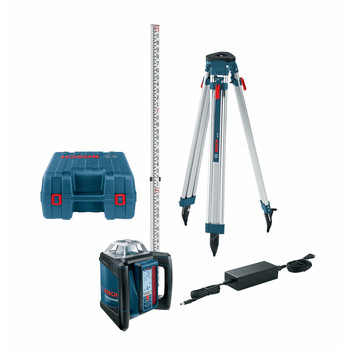 Factory Reconditioned Bosch GRL500HCK-RT Self-Leveling Horizontal Rotary Laser Kit image number 0