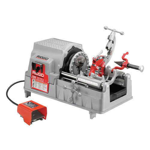 Ridgid 535 1/2 in. - 2 in. Hammer Chuck Threading Machine