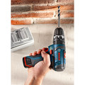 Bosch PS130-2A 12V Max Lithium-Ion Ultra Compact 3/8 in. Cordless Hammer Drill Kit (2 Ah) image number 3