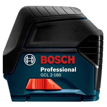 Factory Reconditioned Bosch GCL2-160S-RT Self-Leveling Cross Line Laser with Plumb Points image number 1