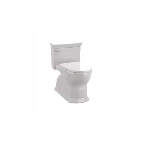 TOTO MS964214CEFG#01 Eco Soiree Elongated 1-Piece Floor Mount Toilet (Cotton White)
