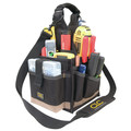 CLC 1526 25 Compartments Electrical & Maintenance Soft-Side Tool Carrier image number 1
