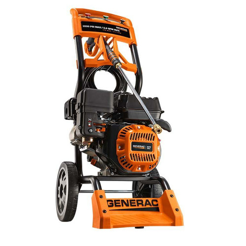 Generac 6921 2,500 PSI 2.3 GPM Residential Gas Pressure Washer