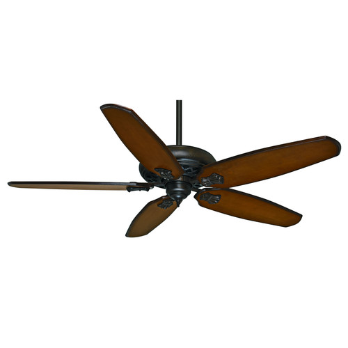 Casablanca 55036 Fellini 60 in. Transitional Provencal Crackle Aged Oak Carved Wood Indoor Ceiling Fan