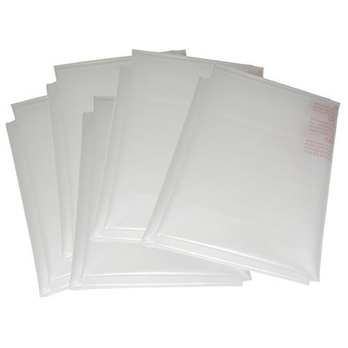 NOVA 9022 14 in. Clear Plastic Replacement Dust Bags (5-Pack)