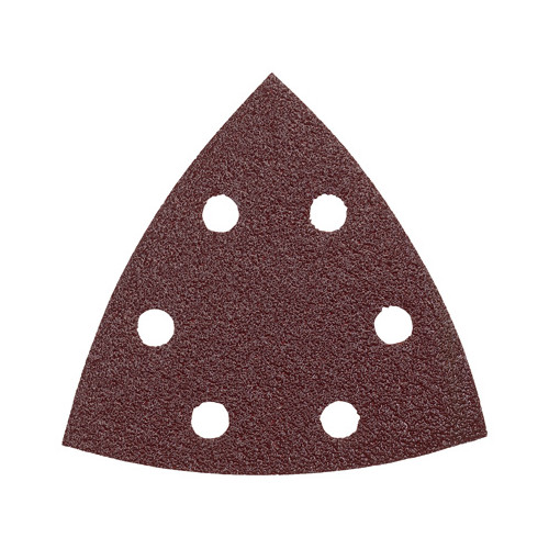 Bosch SDTR180 180-Grit Red Detail Triangular Hook and Loop Sanding Sheets (5-Pack)