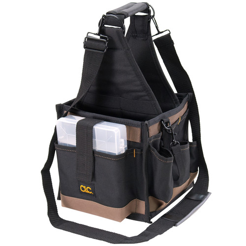 CLC 201-1526 28 Compartments Electrical & Maintenance Soft-Side Tool Carrier