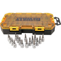 Dewalt DWMT73806 17-Piece Stackable 3/8 in. Drive Bit Socket Set