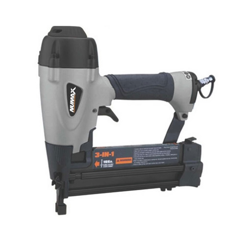 NuMax SXL31 3-in-1 18/16 Gauge Brad/Finish Nailer and Stapler