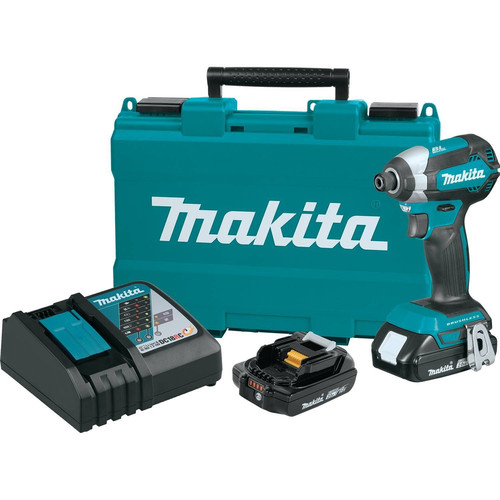 Makita XDT13R 18V LXT 2.0Ah Cordless Lithium-Ion Compact Brushless Cordless Impact Driver Kit