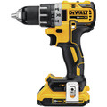 Dewalt DCK283D2 20V MAX XR Compact Brushless Lithium-Ion Cordless Drill/Driver and Impact Driver Combo Kit (2 Ah) image number 3