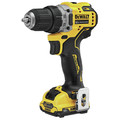 Dewalt DCD701F2 XTREME 12V MAX Brushless Lithium-Ion 3/8 in. Cordless Drill Driver Kit (2 Ah) image number 1