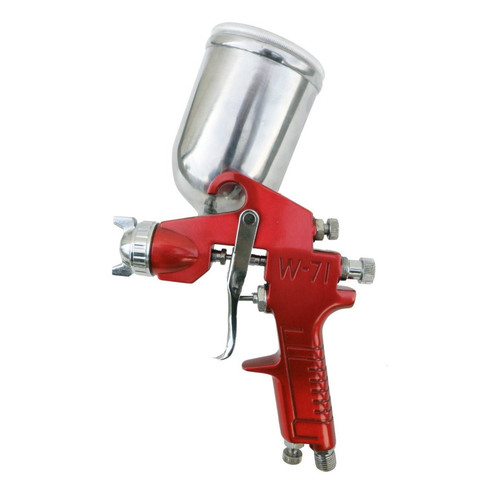 SPRAYIT 352 1.5mm Gravity Feed Spray Gun with Aluminum Swivel Cup