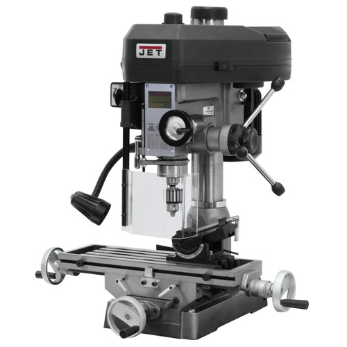 JET JMD-15 1 HP 1-Phase R-8 Taper Milling/Drilling Machine