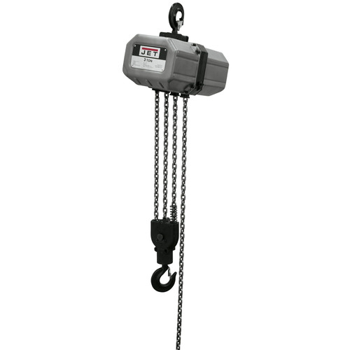 JET 3SS-1C-20 3 Ton Capacity 20 ft. 1-Phase Electric Chain Hoist