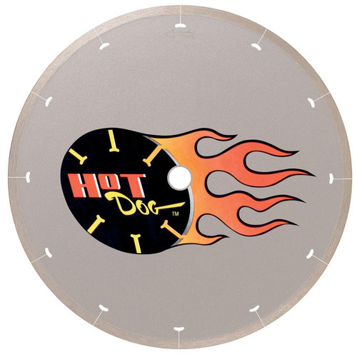MK Diamond MK-225 HotDog 7 in. Continuous Rim Wet Cutting Diamond Blade