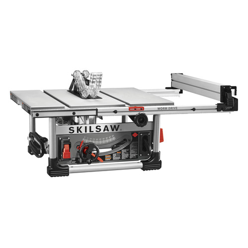 Skilsaw spt99 12 10 in heavy duty worm drive table saw with stand greentooth Choice Image
