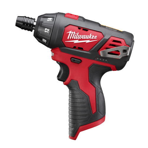 Milwaukee 2401-20 M12 12V Cordless Lithium-Ion Sub-Compact Screwdriver (Bare Tool)