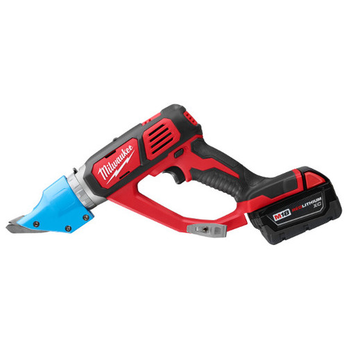 Factory Reconditioned Milwaukee 2636-82 M18 18V 3.0 Ah Cordless Lithium-Ion 14 Gauge Double Cut Shear