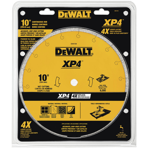 Dewalt DW4764 12 in. x .060 in. Extended Performance Tile Blade
