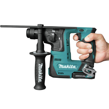 Makita RH02R1 12V max CXT Lithium-Ion 9/16 in. Rotary Hammer Kit, accepts SDS-PLUS bits (2.0Ah) image number 3