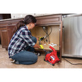 Ridgid 55808 PowerClear 0.5 Amp 3/4 in. - 1 1/2 in. Corded Drain Cleaning Machine image number 4