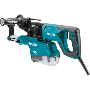 Makita HR2661 7 Amp 1 in. D-Handle Rotary Hammer with HEPA Extractor image number 1