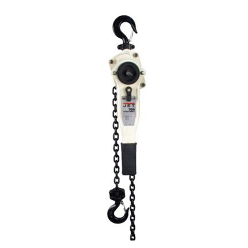 JET JLP-150A-15SH 1.5 Ton Lever Hoist with 15 ft. Lift and Ship Yard Hooks