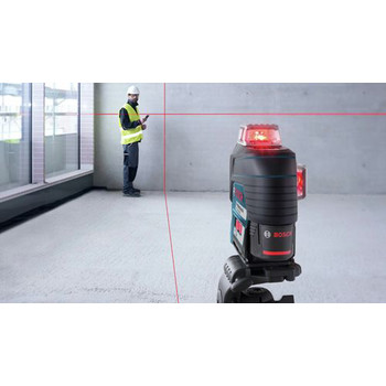Bosch GLL3-330C 360-Degrees Connected Three-Plane Leveling and Alignment-Line Laser image number 5