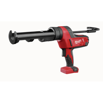 Milwaukee 2641-20 M18 18V Cordless Lithium-Ion Caulk/Adhesive Gun with 10 oz. Carriage (Tool Only)
