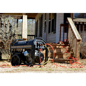 Factory Reconditioned Powermate PM0126000R 6,000 Watt 414cc Gas Portable Generator image number 4