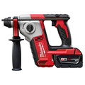 Factory Reconditioned Milwaukee 2612-82 M18 18V Cordless Lithium-Ion 5/8 in. SDS-Plus Rotary Hammer Kit