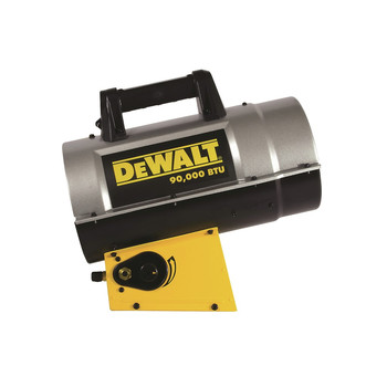 Dewalt F340715 55,000 - 90,000 BTU Forced Air Propane Heater image number 0