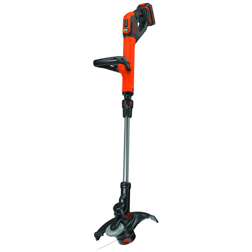 Factory Reconditioned Black & Decker LST522R 20V MAX 2.5 Ah Cordless Lithium-Ion 12 in. 2-Speed String Trimmer/Edger Kit