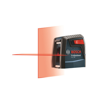 Bosch GLL30 30 ft. Self-Leveling Cross-Line Laser image number 4