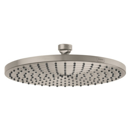 Hansgrohe 27474821 Raindance 10 in. Ceiling Mount Showerhead (Brushed Nickel)