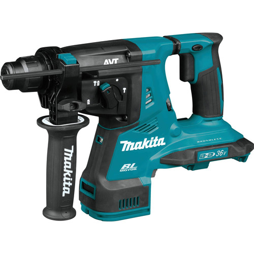 Makita XRH10Z 18V X2 LXT Lithium-Ion (36V) Brushless Cordless 1-1/8 in. AVT Rotary Hammer, accepts SDS-PLUS bits, AFT, AWS Capable (Tool Only)