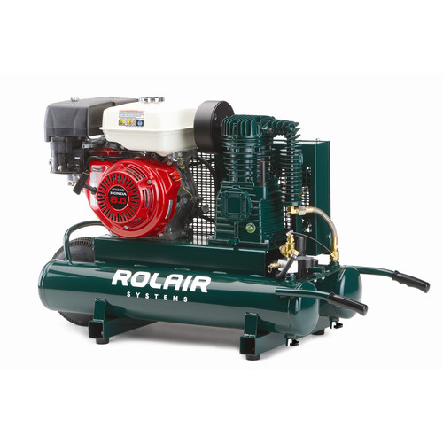Rolair 1040HK18 9 Gallon 270cc 9 HP Portable Belt Drive Air Compressor