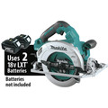 Makita XSH08Z 18V X2 LXT Lithium-Ion (36V) Brushless Cordless 7-1/4 in. Circular Saw with Guide Rail Compatible Base (Tool Only) image number 8