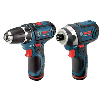 Bosch CLPK22-120 12V Lithium-Ion 3/8 in. Drill Driver and Impact Driver Combo Kit image number 1