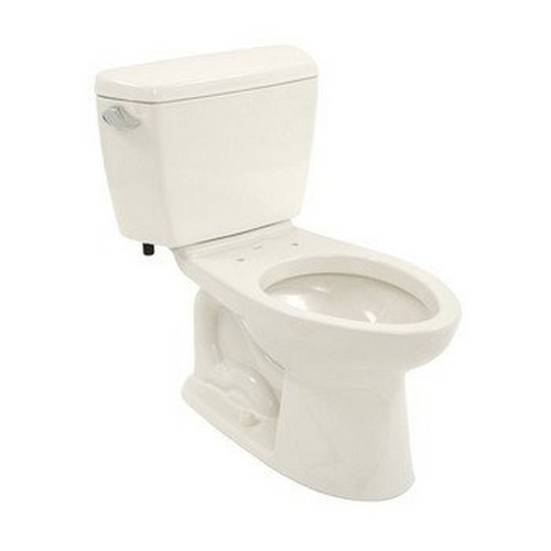 TOTO CST744SLD#11 Drake Elongated 2-Piece Floor Mount Toilet (Colonial White)